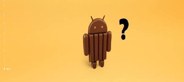 Android 4.4.1 Kit Kat İçin Artık Son Zamanlar