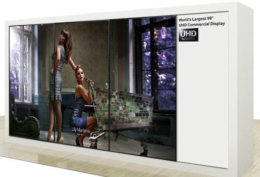 Samsung'dan 98 inçlik Ultra HD Televizyon!