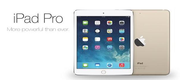 12.9 inçlik iPad Pro!
