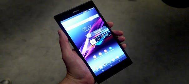 Sony Xperia Z Tablet Geliyor!