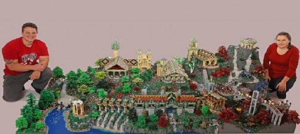Efsane Yüzüklerin Efendisi'ne LEGO'lu Versiyon!