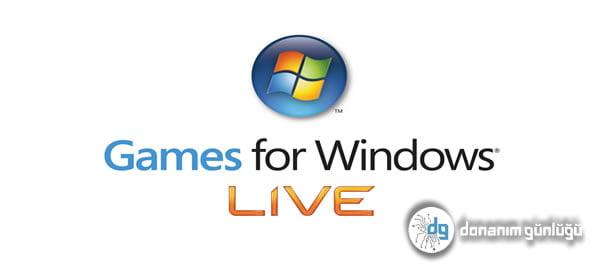 Games For Windows Live Oyunları Tehlikede!