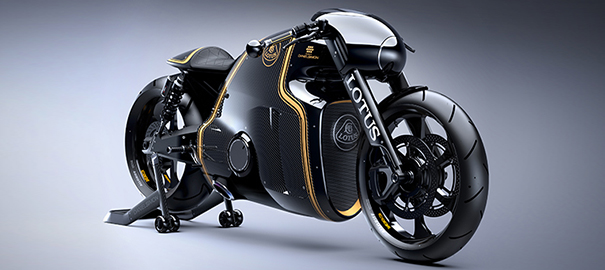 Lotus'un  İlk Motorsiklet Modeli Sonunda Ortaya Çıktı