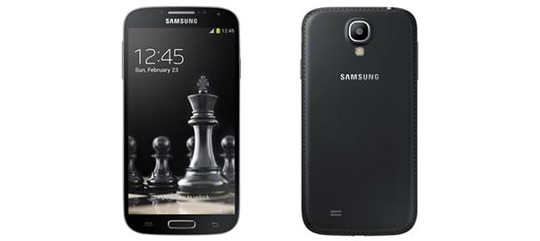 Siyah Galaxy S4 ve Galaxy S4 Mini Geliyor