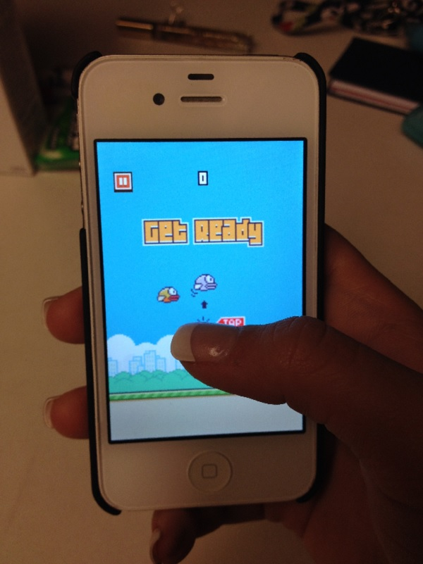 Flappy Bird hrát 2014 on-line