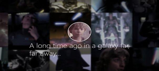 Darth Vader'a Özel Look Back Videosu!
