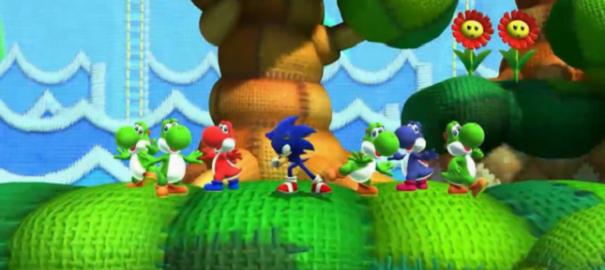 Nintendo, Sırtını Sonic'e Yasladı!