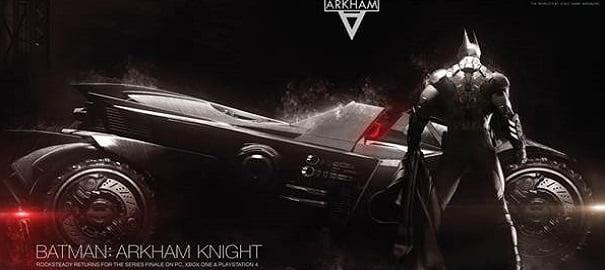 Batman: Arkham Knight'dan Batmobil Detayları!