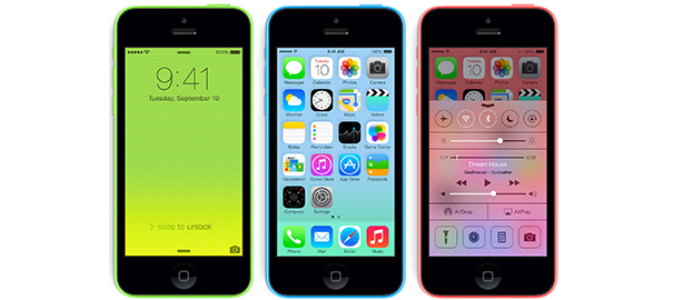 8GB'lık iPhone 5C Resmen Satışa Sunuldu