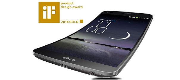 LG G Flex'e iF Tasarım Ödülü