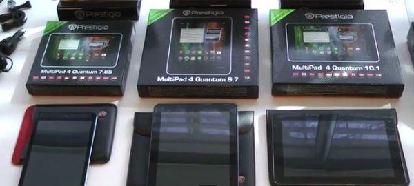 Prestigio Yeni Ürünü MultiPad Visconte'yi Tanıttı
