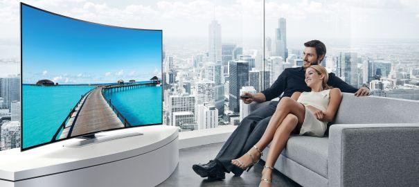 Samsung Curved UHD TV'ler Özel Ön Sipariş Fırsatları ile Geliyor