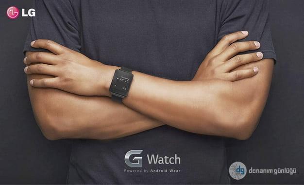 LG G Watch'da Yeni Gelişmeler!