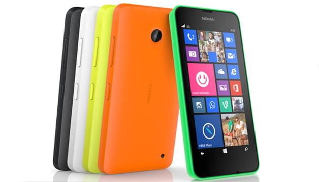 Lumia 630'un Fiyatı Belli Oldu
