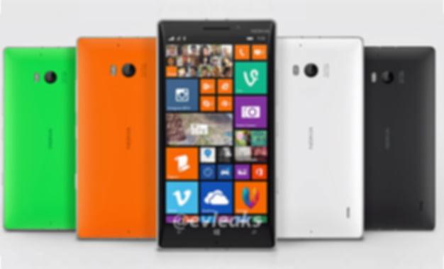 Nokia Lumia 930'un Görüntüsü Sızdırıldı