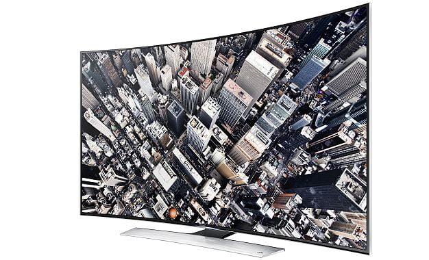 Samsung  Curved UHD TV TeknolojisiTürkiye'de!