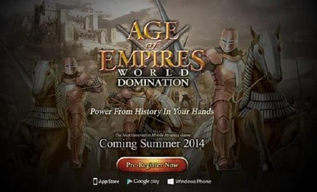 Age of Empires Geri Geliyor