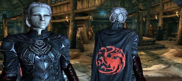 Skyrim ve Game of Thrones Birleşti