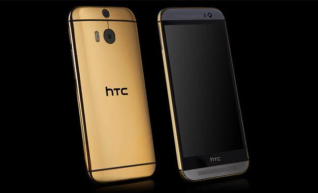 24 Ayar Altın Kaplama HTC One M8
