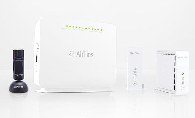 AirTies 802.11ac Teknolojisine Sahip 4 yeni Modelini Tanıttı