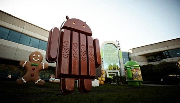 Android 4.4 KitKat Yerinde Sayıyor!
