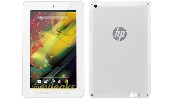 HP nin Yeni Tableti Ortaya Çıktı
