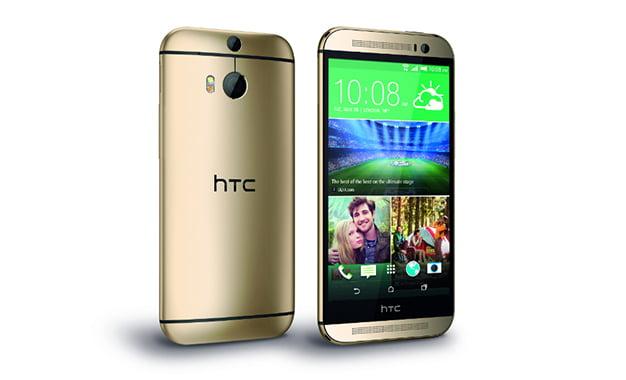 Tarzını Belli Etmek İsteyenlere Gold Rengi HTC One M8