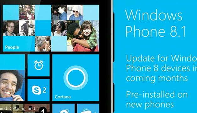 Windows Phone 8.1 Çıkış Tarihi Belli Oldu