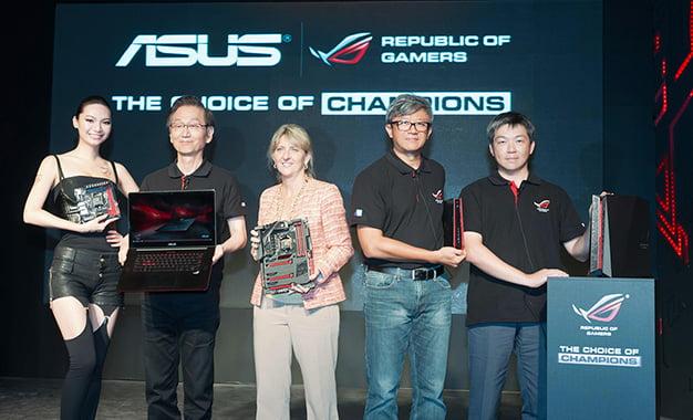 ASUS ROG Serisinin Yeni Üyeleri Yüzünü Gösterdi