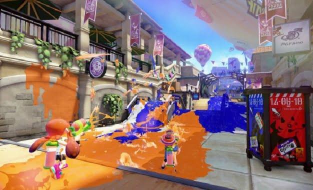 Wii U için Gelecekler Listesinde Splatoon'da Yer Alıyor