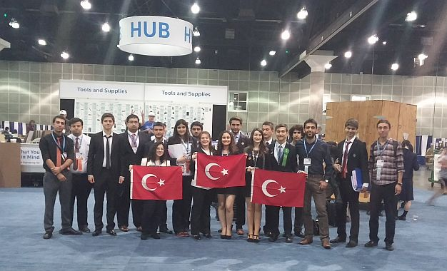 Türk Gençleri  Dört Farklı Ödülle Harikalar Yarattı