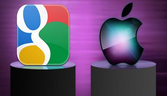 Google, Apple iOS 8 ile Dalga Geçti!