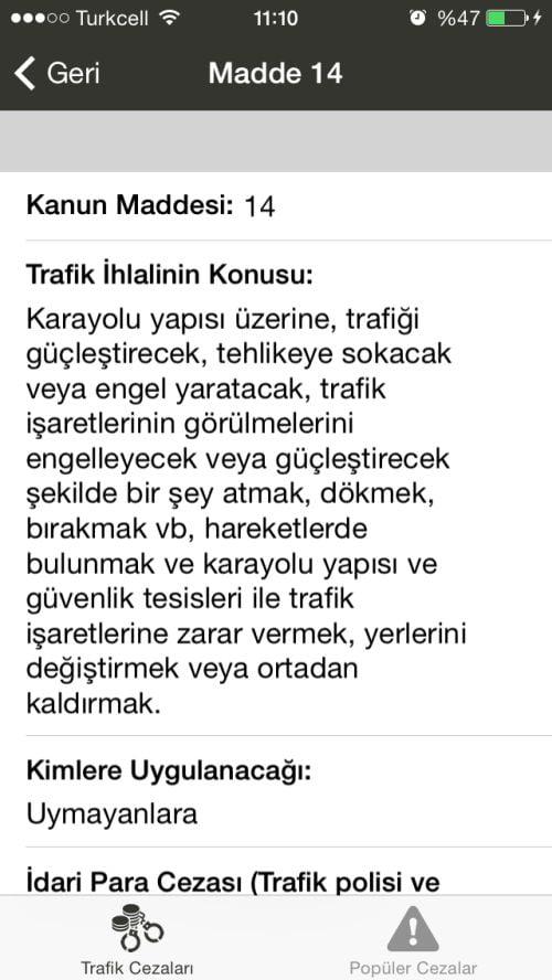 trafik cezaları uygulaması (2)