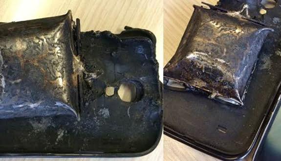 Sahte Batarya Galaxy S4'ü Patlattı !