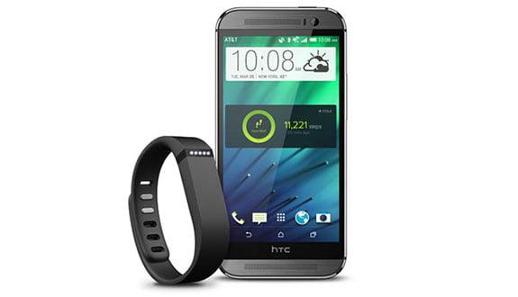 HTC One M8'in Fitbit Desteğiyle Akıllıca Form Tutun