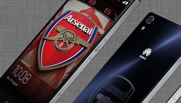 Huawei Ascend P7 Arsenal Edition Göründü
