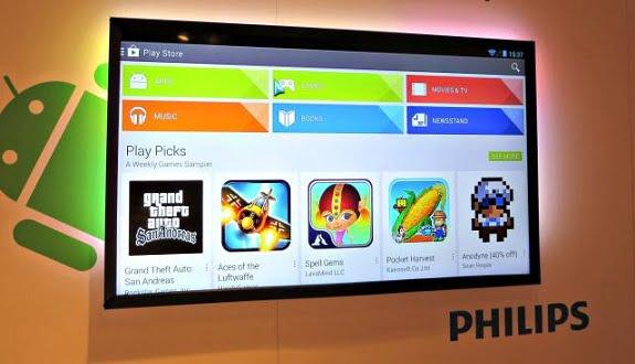 Philips'ten Avrupa'nın İlk Android Temelli Televizyonu!