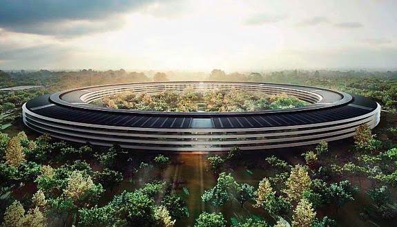 Apple'ın Uzay Kampüsü Çok Farklı Olabilirmiş