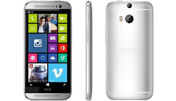 Windows Phone'lu HTC One M8 Amazon'da