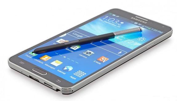 Galaxy Note 4 Samsung Mobile'ın Sitesinde görüldü