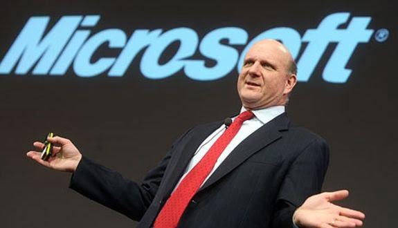 Steve Ballmer Microsoft'tan Tamamen Ayrıldı