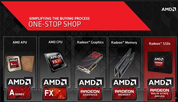AMD'den Radeon R7 SSD Serisi!