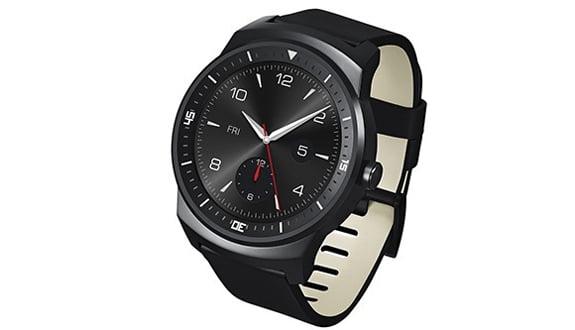 LG G Watch R Ortaya Çıktı