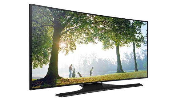 Samsung'un Yeni Kavisli Televizyonu Türkiye'de