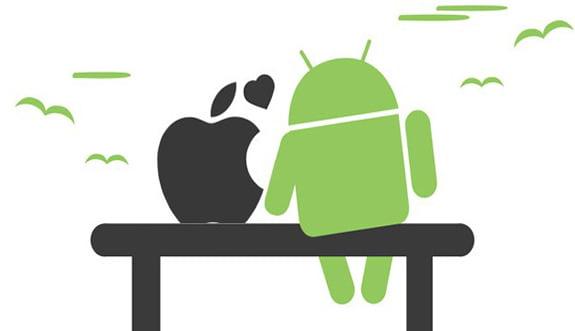 Dev Savaş: Android L vs iOS 8