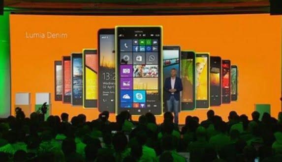 Lumia Denim Güncellemesi Resmi Olarak Duyuruldu