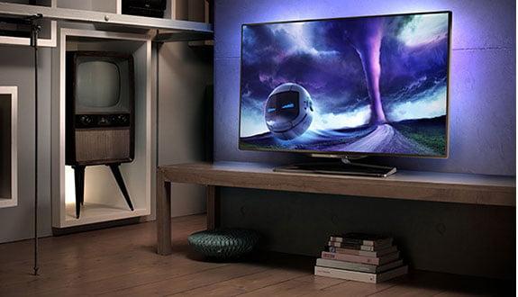Philips'den Android ile Çalışan Kavisli TV