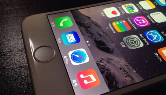 iPhone 6'nın Ekranı Çalışırken Görüntülendi