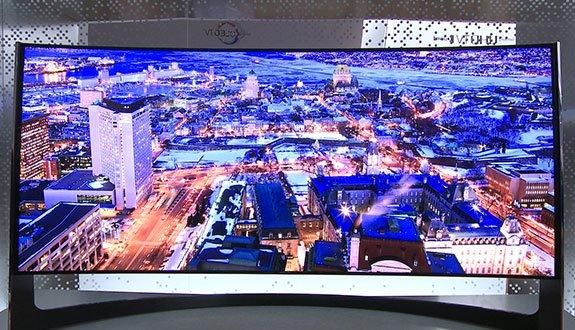 Samsung'dan Bükülebilir Televizyon