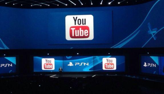 Youtube Playstation 4'e Geldi